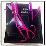 Something in the water this week. Rimmel sent the Fifty Shades trilogy alongside their new ScandalEyes mascara.