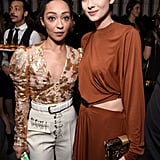At the W Magazine party during the Palm Springs Film Festival, Ruth posed with Caitriona Balfe. RelatedOutlander's Caitriona Balfe Has Style For Miles