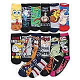Here's a Peek at the 12 Pairs of Socks Inside