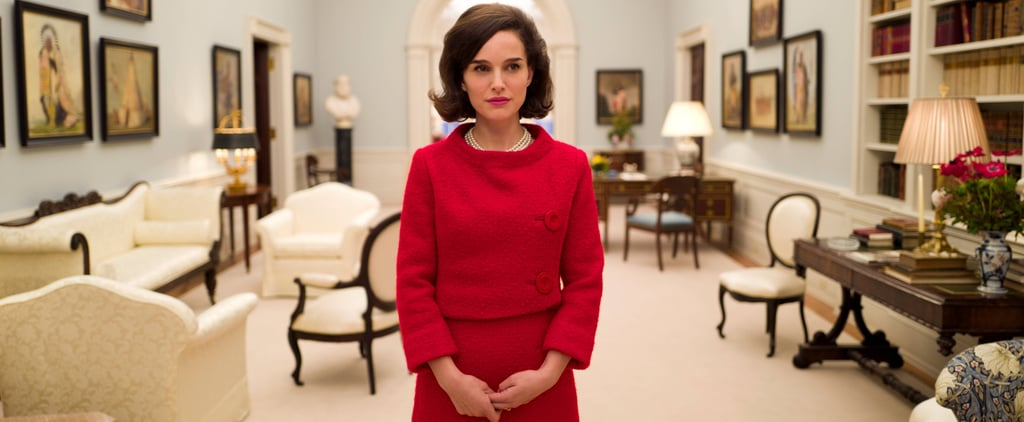 See Natalie Portman and Jackie Kennedy Stand Side by Side in the Same Red Suit