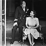 The Queen and Prince Philip Engagement Announcement, July 1947
