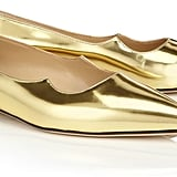 Metallic Gold Flats