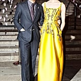 Zac Posen and Tao Okamoto at the Tribeca Film Festival Vanity Fair party. Source: Matteo Prandoni/BFAnyc.com