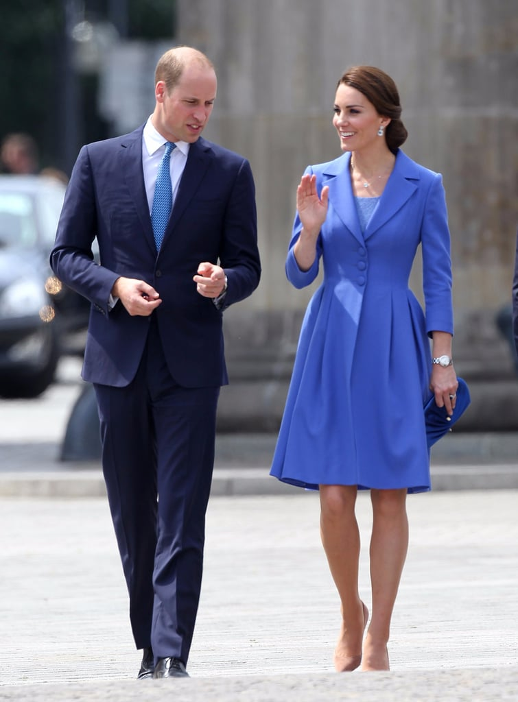 Kate Middleton Poland and Germany Style 2017