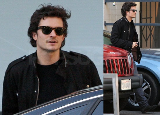 Orlando Bloom's Mustache May Win Worst Supporting Role by Facial Hair on a Lead Actor