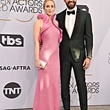 Emily Blunt and John Krasinski at the 2019 SAG Awards
