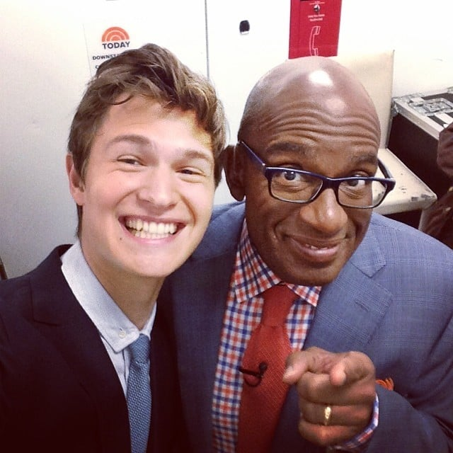 When He Nabbed a Selfie With the Elusive Al Roker