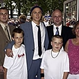 """Charlie's mom was an artist, and his dad was a scrap-metal dealer, and they separated when he was young. His dad passed away in 2013. He grew up in Newcastle, England.  He has one older brother and two younger half-brothers, and he told us that he feels """"very protective"""" over his younger brothers."""