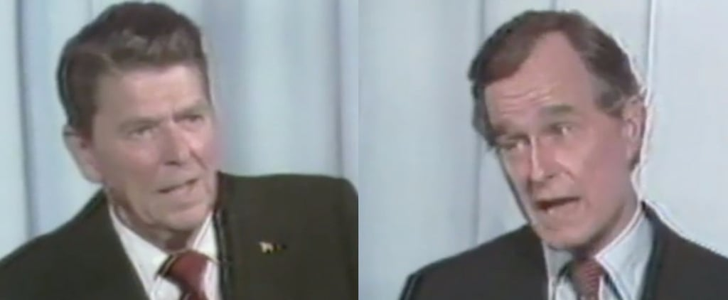 Video of George H. W. Bush and Ronald Reagan on Immigration