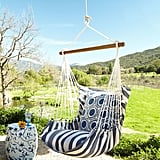 Horchow Blue Swinging Chair ($225)