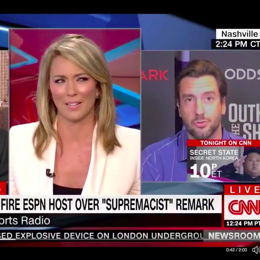 6bf4634a15a Clay Travis Comments About Boobs on CNN
