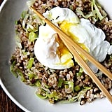 Vegetarian: Ginger Fried Rice With Poached Egg