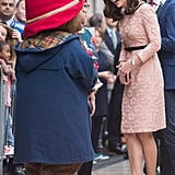 Kate Middleton Pink Orla Kiely Dress