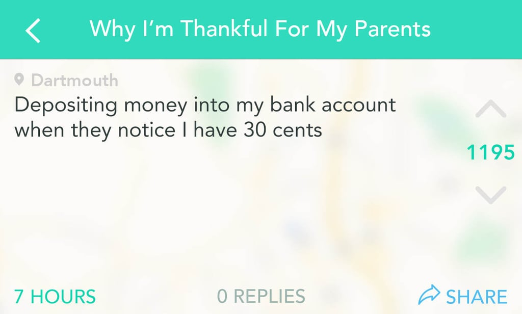 Why I'm Thankful For My Parents