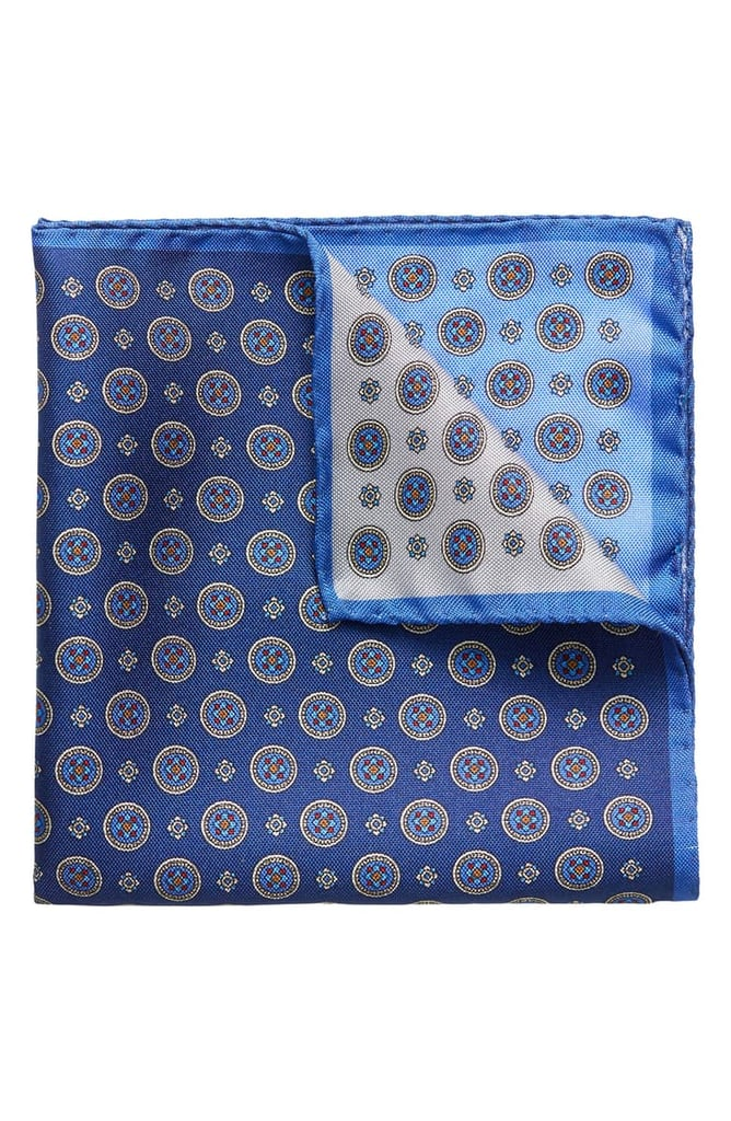 Eton Four-in-One Silk Pocket Square