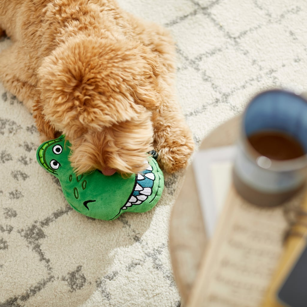 Pixar Rex Round Plush Squeaky Dog Toy