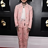 Post Malone at the 2019 Grammy Awards
