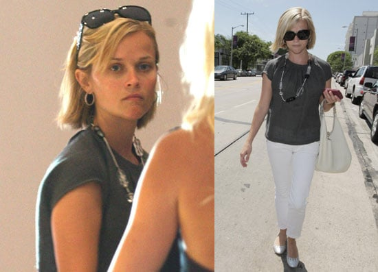 Photos of Reese Witherspoon Shopping at Stella McCartney