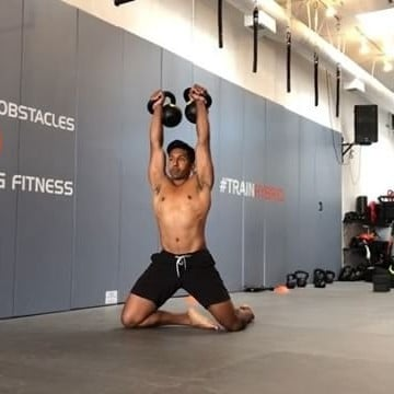 Double Kettlebell Workout