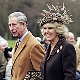 Prince Charles and Camilla, Duchess of Cornwall, attended the Christmas Day service at a Sandringham church on Dec. 25, 2006, in Norfolk, England.