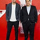 "Channing Tatum = 6'1"", Jonah Hill = 5'7"""