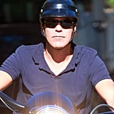 George Clooney Is Riding Solo in LA