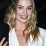 Margot Robbie Black Nail Polish Colour