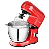 CHEFTRONIC Stand Mixers Bowl 6 Speed Kitchen Electric Mixer Machine With Dough Hook Egg Whip and Dough Blade ($99.99)