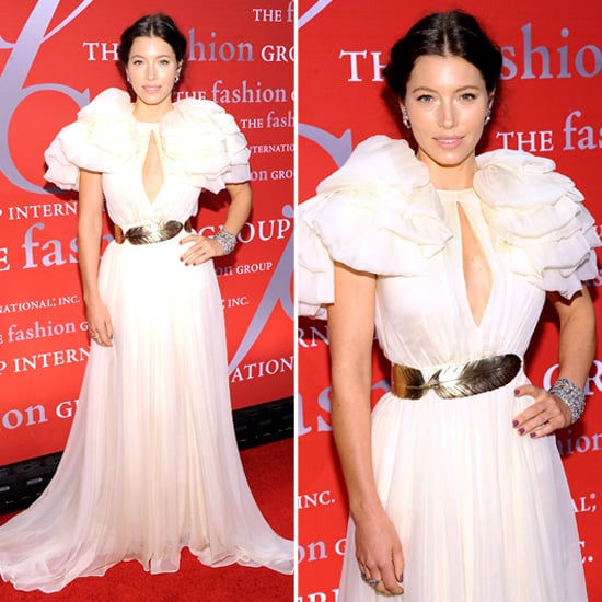 Jessica Biel in Giambattista Valli at Night of Stars Event