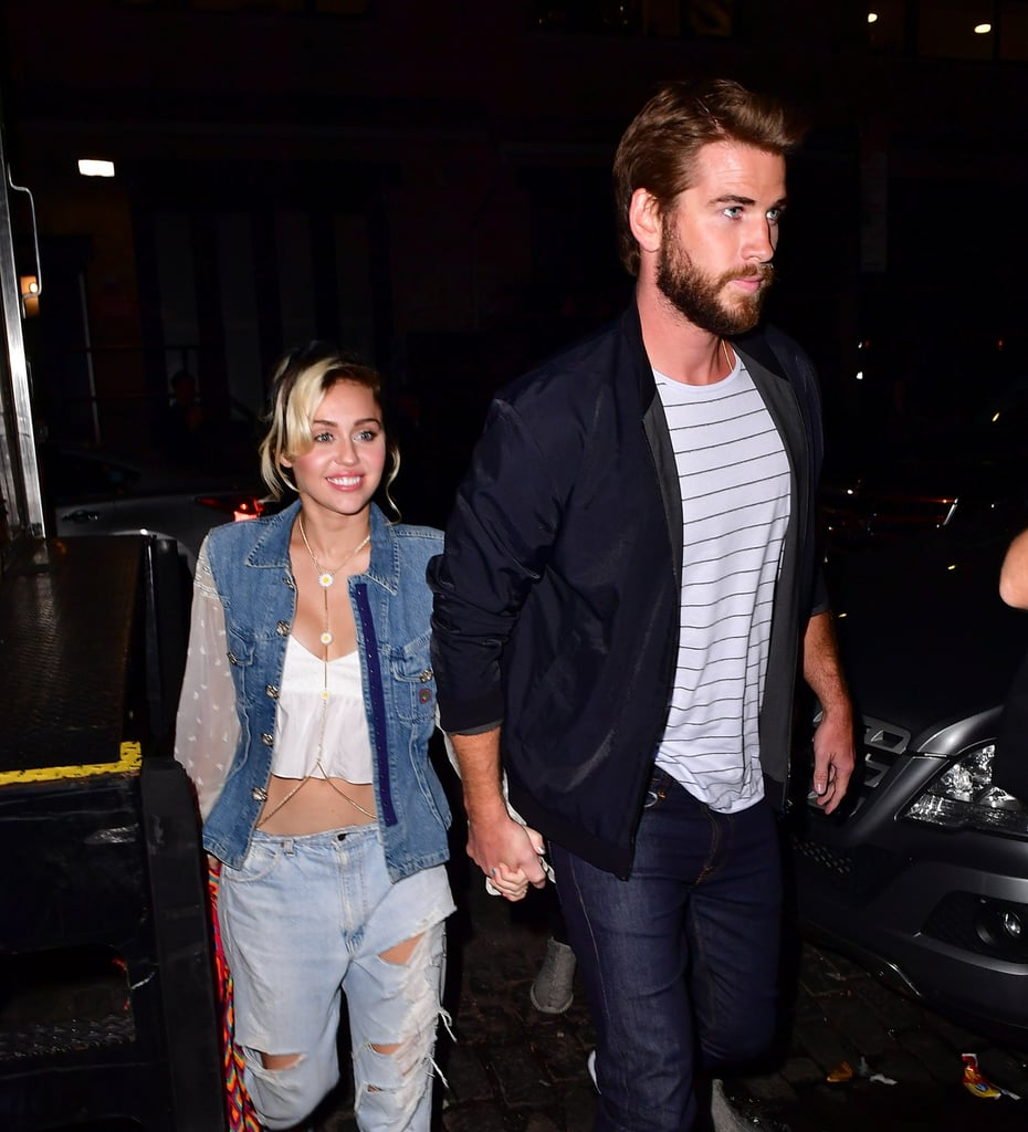 In Sept. 2016, Miley and Liam strolled into Catch in NYC hand-in-hand.