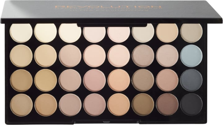 Makeup Revolution Flawless Matte Ultra 32-Eyeshadow Palette