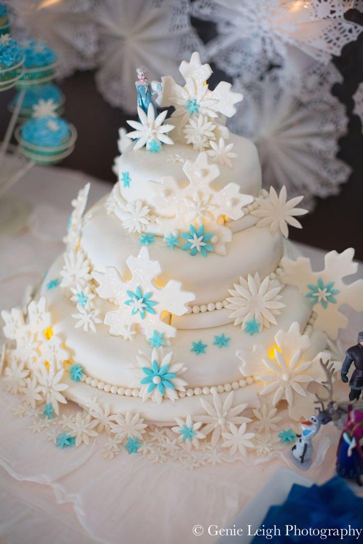 The Homemade Cake Disney Frozen Birthday Party Ideas