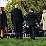 Melania Trump in Her Givenchy Cape