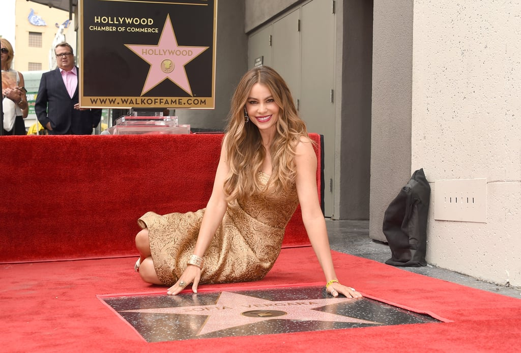 Sofia Vergara's Star on the Hollywood Walk of Fame