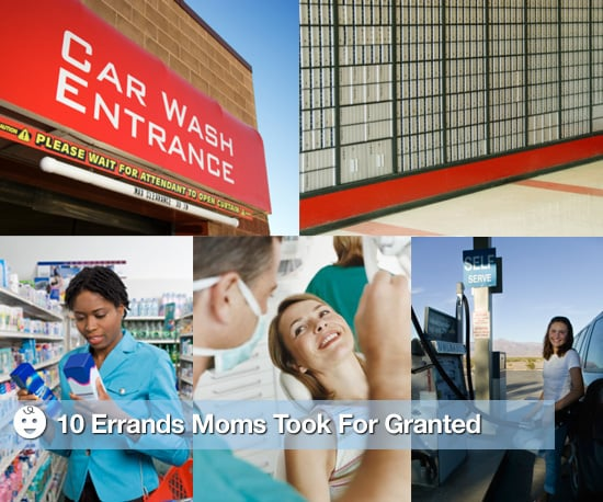 10 Errands Moms Took For Granted