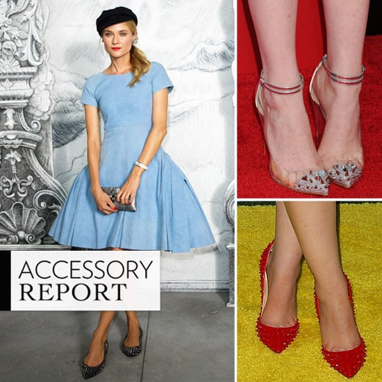 Star-Studded: How Celebs Put Their Punched-Up Shoes to Work