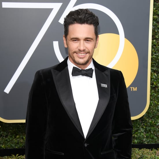 James Franco at the 2018 Golden Globes