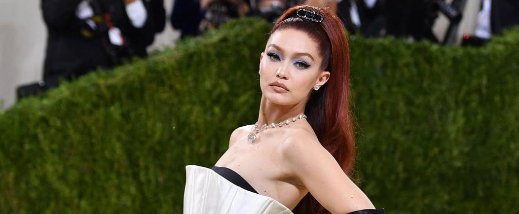 See Gigi Hadid's Red Hair Color at the Met Gala 2021