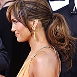 Jennifer Lopez's Highlights and Ponytail in 2004