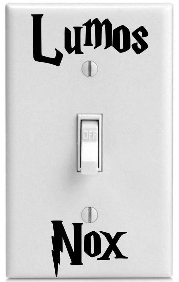 Lumos/Nox Light Switch Decals