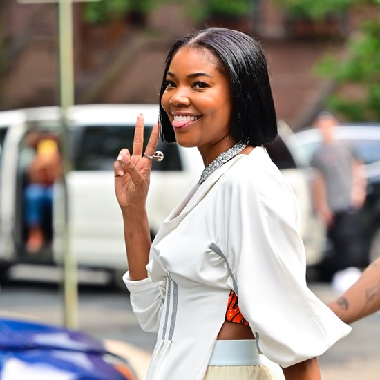 """See Gabrielle Union's Natural Curls After """"Summer Chop"""" Cut"""