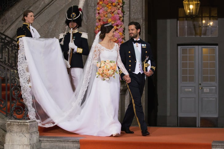 When Sofia's Train Rivaled Kate Middleton's   Best Swedish Royal Wedding Pictures 2015 ...
