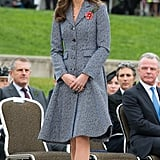 Kate at the Australian War Memorial in 2014