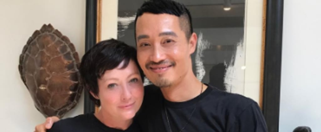 Shannen Doherty Celebrates Breast Cancer Remission by Getting a New Pixie Cut