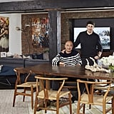 """""""They both love design and have great taste,"""" says Cliff, adding, """"We have been friends and worked together for over a decade, so I feel like I know their taste and what's their inventory. That makes for a smooth transition into any environment."""""""