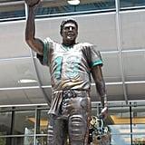 Despite his skill, quarterback Dan Marino (No. 13) never won a Super Bowl.