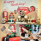 Vintage Vroom! A Classic Race Car Birthday Party