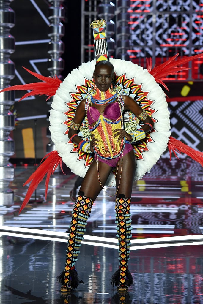 22 Times Natural Hair Won the 2017 Victoria's Secret Fashion Show