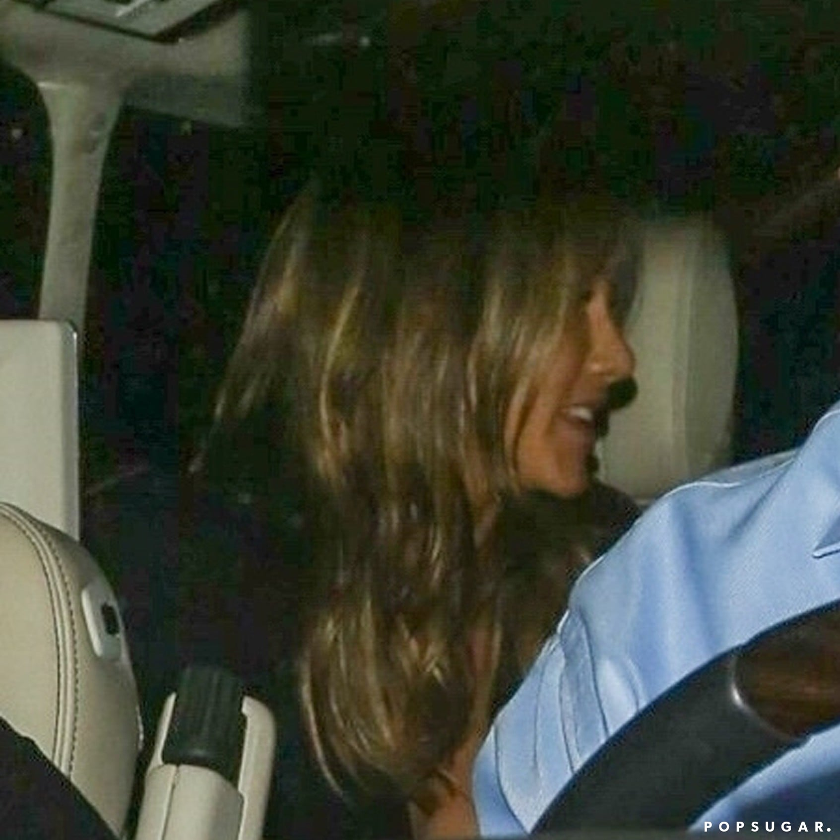 cf237d80ace Jennifer Aniston s Black Jumpsuit at 50th Birthday Party