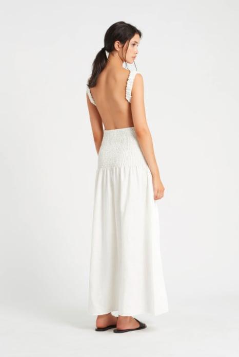 Sir the Label Lorena Open Back Maxi Dress ($320)